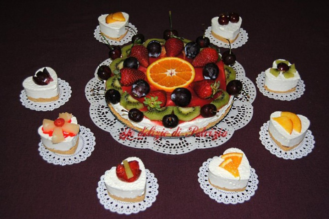 Cheese cake e mini cakes