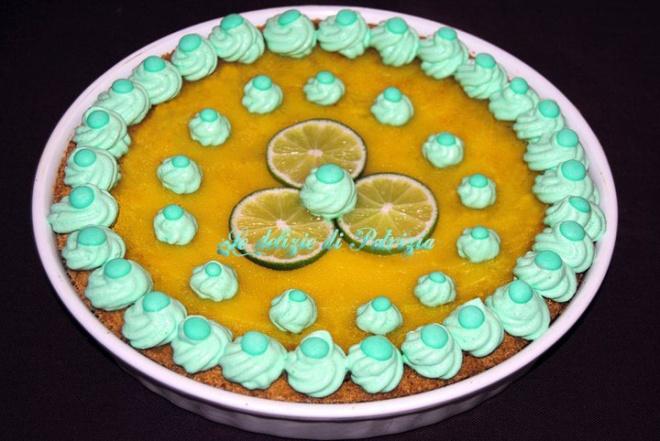 Crostata al Lime curd