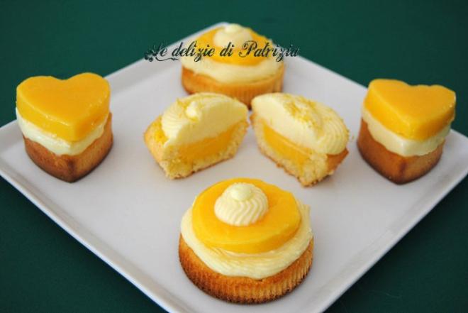 Tortine al lemon curd e crema al mascarpone