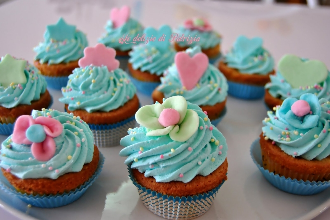 Cupcakes con cream cheese frosting