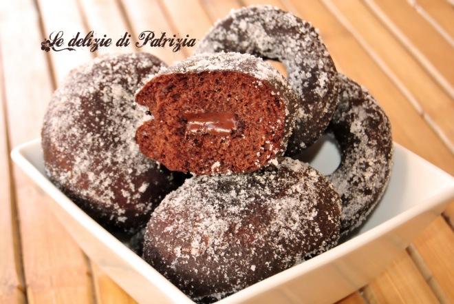 Krapfen e ciambelle al cacao