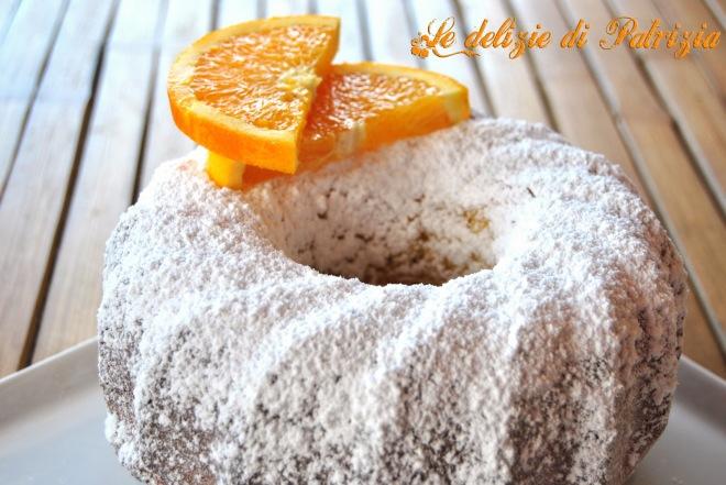 Tortina all_arancia profumata al Grand Marnier
