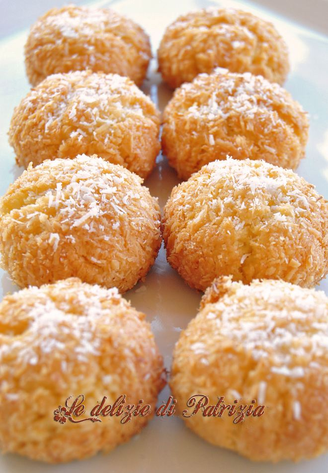 Dolcini al cocco ©2012 Le delizie di Patrizia Gabriella Scioni Ph.