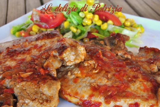 Braciole in salsa piccante