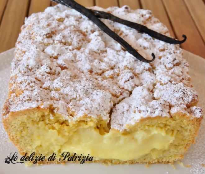 Sbriciolata ripiena di crema pasticcera ©2012 Le delizie di Patrizia Gabriella Scioni Ph.