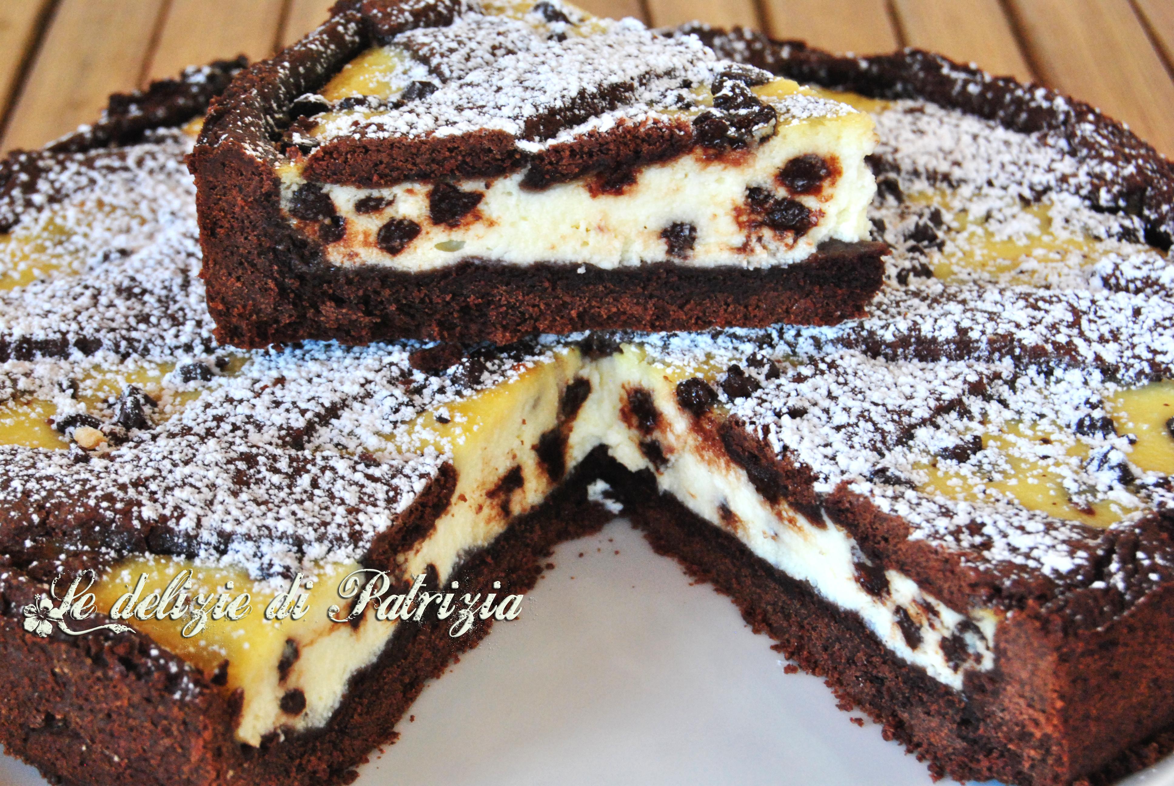 Torta alla ricotta e nutella bimby torte al cioccolato for Ricette dolci bimby