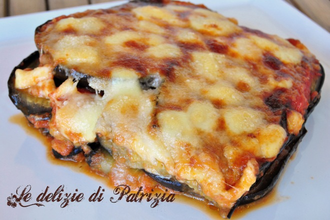 Parmigiana di melanzane light