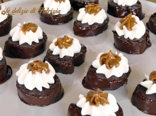 Girelle mignon al Dulce de Leche cioccolato e panna