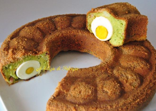 Ciambellone broccoli e uova
