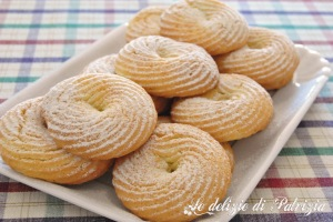 Biscottini profumati all'arancia  ©Le delizie di Patrizia Gabriella Scioni