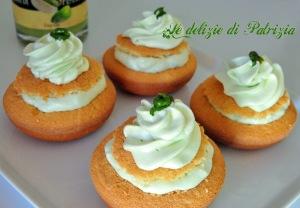 Tortine con chantilly al pistacchio  ©Le delizie di Patrizia Gabriella Scioni