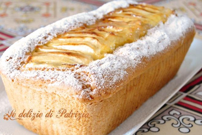 Plumcake alle mele ©Le delizie di Patrizia Gabriella Scioni