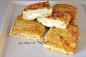 Mozzarella in carrozza  ©Le delizie di Patrizia Gabriella Scioni