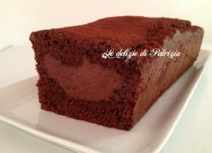 Plumcake con crema pasticcera al cioccolato ©Le delizie di Patrizia Gabriella Scioni