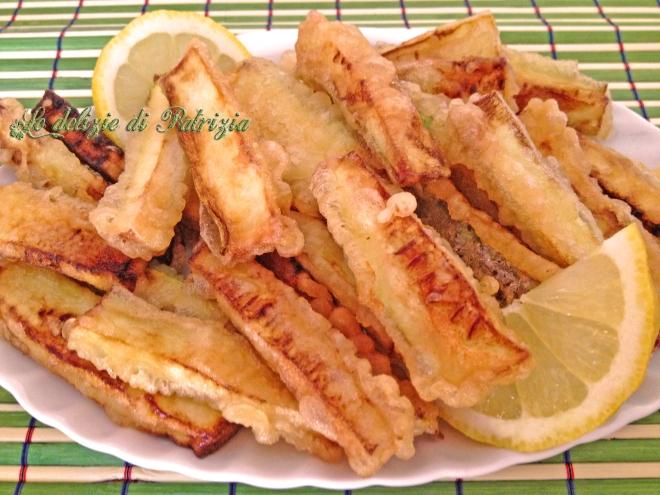 Bastoncini di zucchine in tempura (senza uova) ©Le delizie di Patrizia Gabriella Scioni