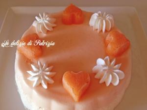 Bavarese al melone  ©Le delizie di Patrizia Gabriella Scioni