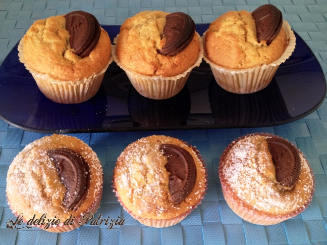 Muffins al biscotto