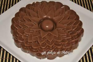Panna cotta al cioccolato ©Le delizie di Patrizia Gabriella Scioni