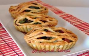 Rustici con zucchine parmigiano e prosciutto cotto ©Le delizie di Patrizia Gabriella Scioni
