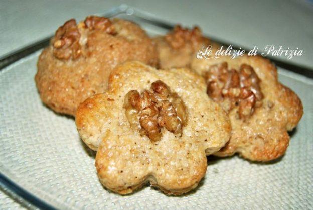 Biscotti al mascarpone e noci