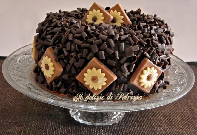Cheesecake di ricotta con cacao e gocce di cioccolato (al forno)