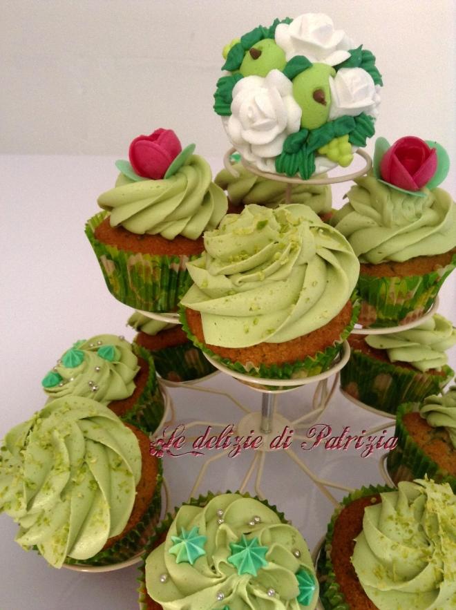 Cupcakes al pistacchio