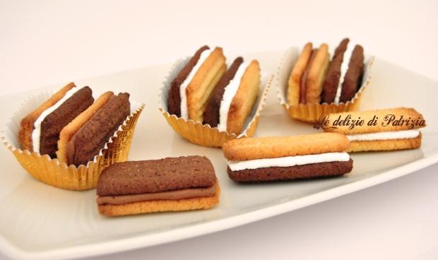 Biscotti al miele ripieni