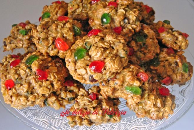 Biscotti con fiocchi e malto d'orzo