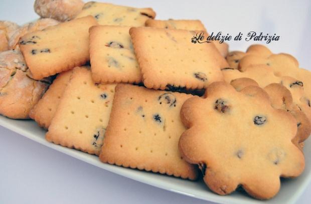 Biscotti zenzero e mirtilli