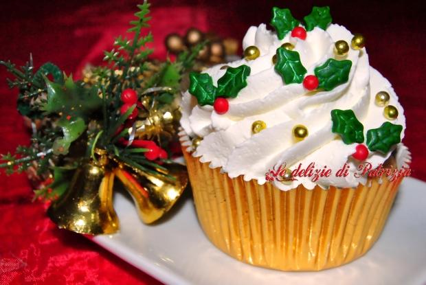 Christmas cupcakes con cheese frosting al limoncello