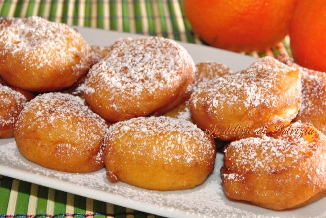 Frittelle di patate all'arancia