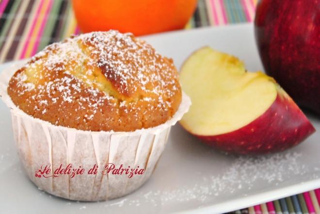 Muffins con mela e arancia