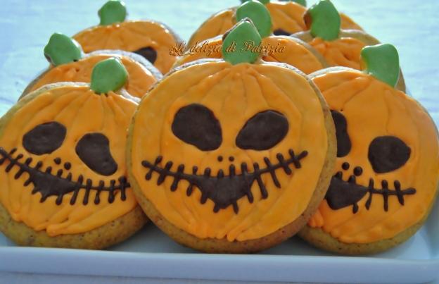 Zucche di halloween con glassa reale