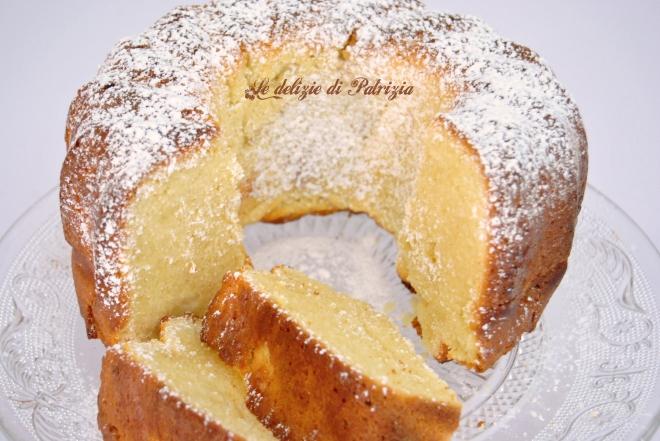 Torta con farina di mandorla e limone