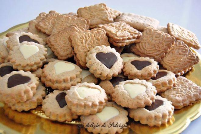 Biscotti con caramello e cannella