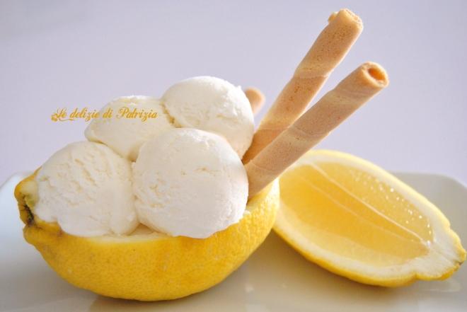 Gelato cremoso al limone