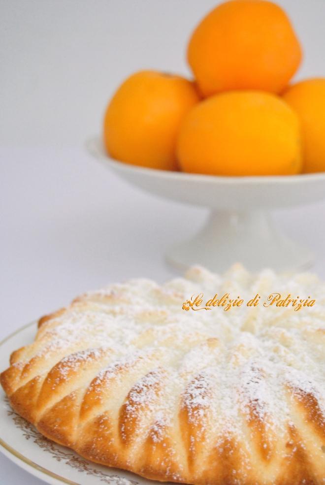 Angel cake al profumo d'arancia