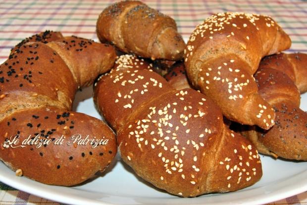 Cornetti di pane ai sette cereali