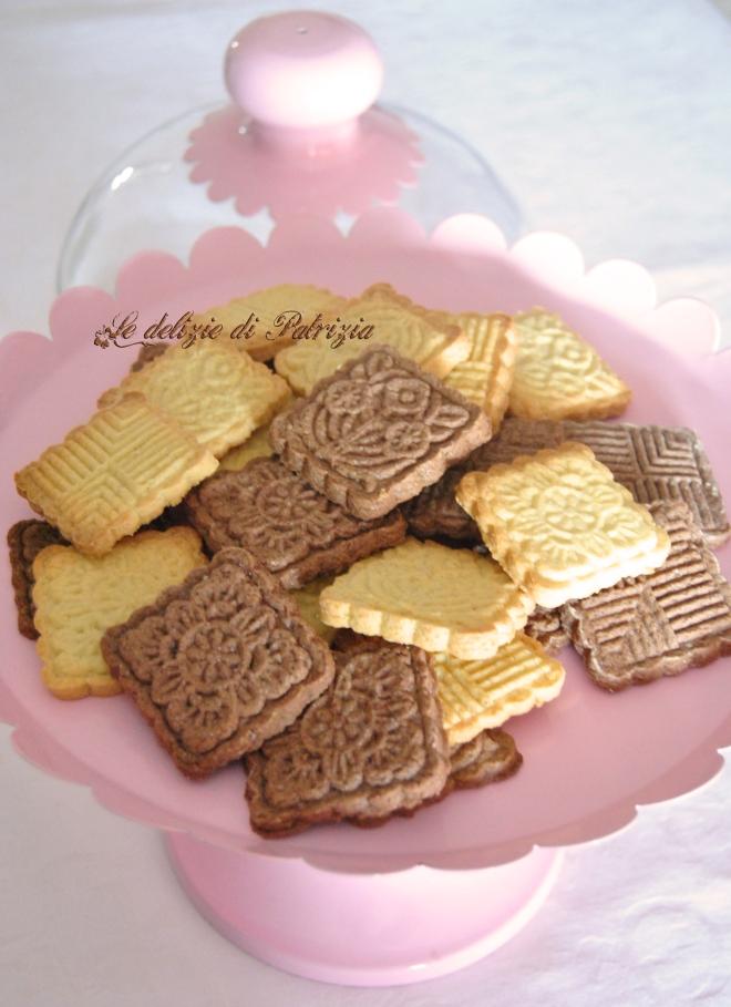 Biscotti croccanti vaniglia e cacao