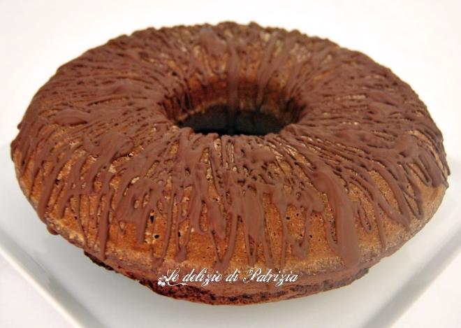 Ciambella al cacao senza zucchero