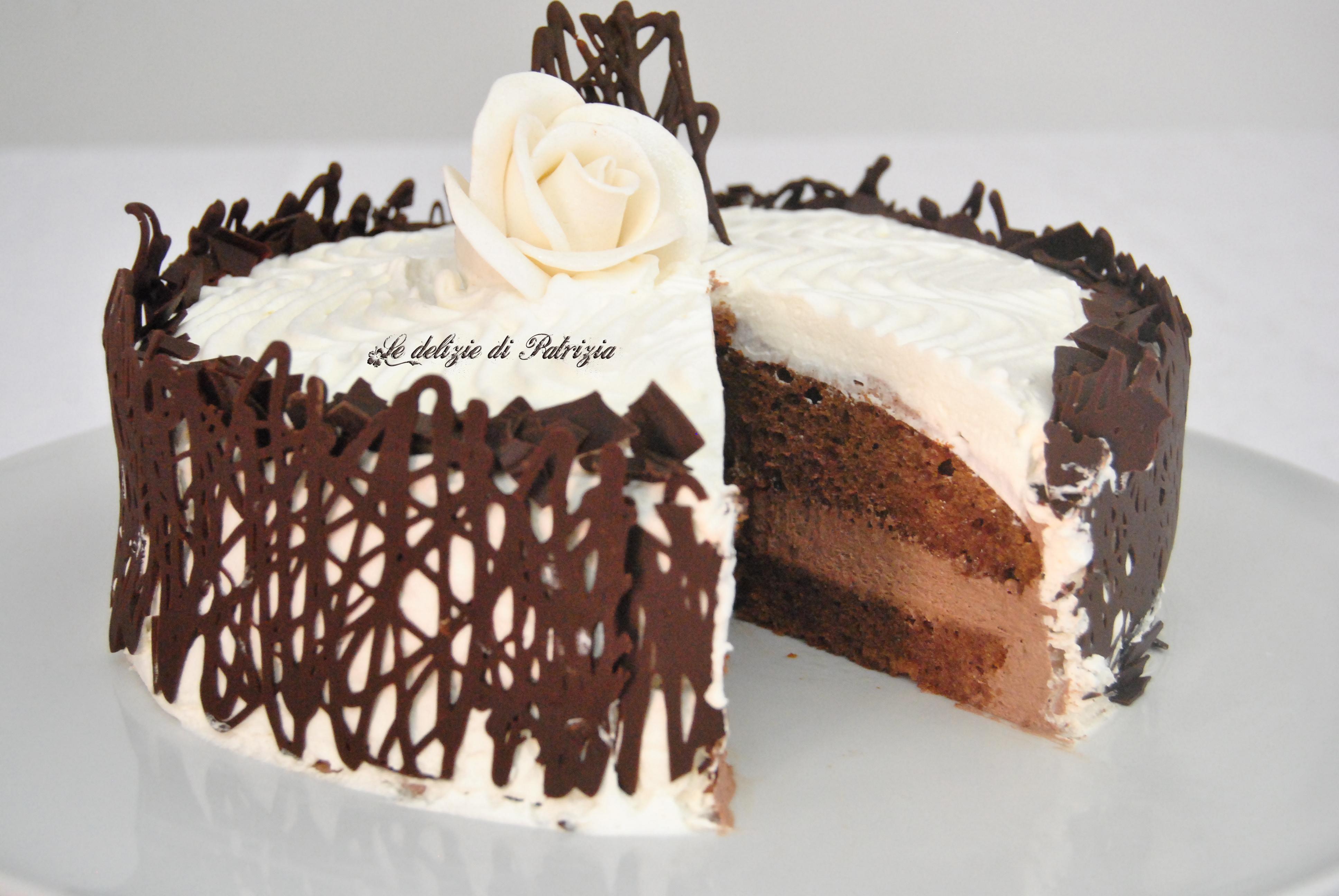 Torta Alla Nutella Con Crema Al Mascarpone E Panna Le Delizie Di