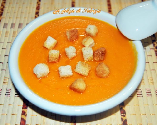 Velluttata di carote e zenzero