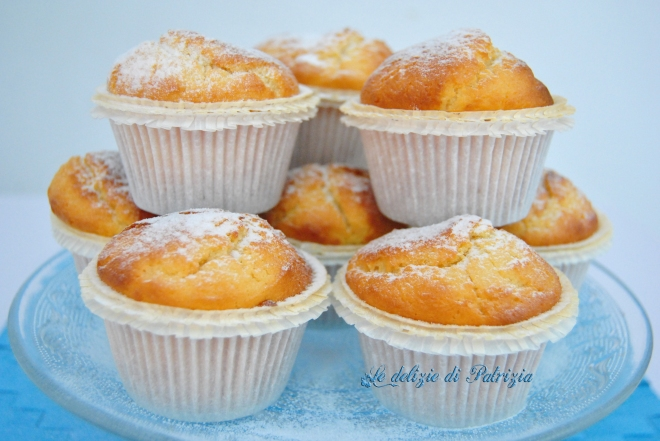 Muffins con ricotta e limone
