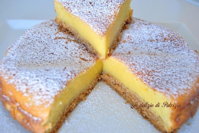 Cheesecake cremosa alla vaniglia