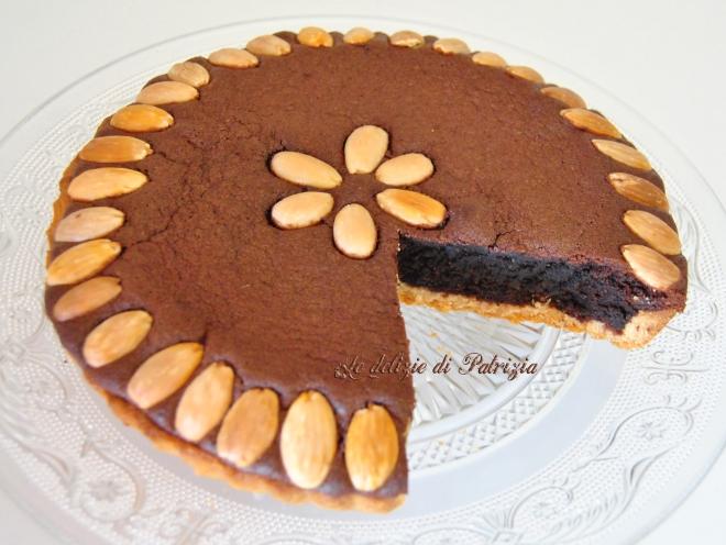 Crostata con frangipane al cacao