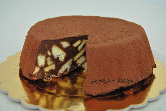 Torta cioccobiscotto (salame al cioccolato formato torta)
