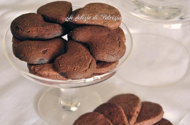 Gocciole al cacao con gocce di cioccolato