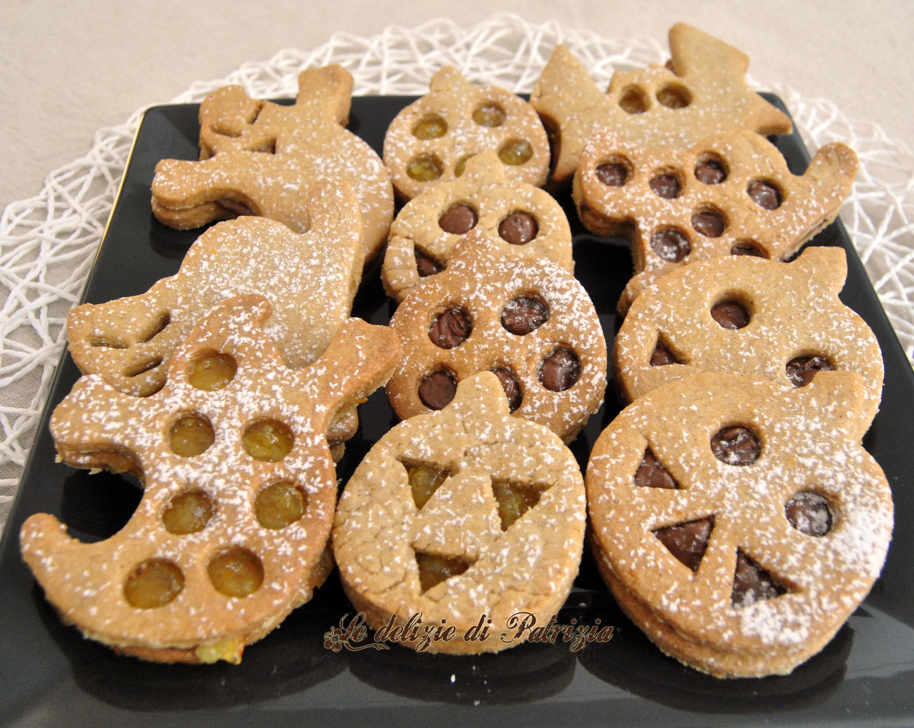 Biscotti di hallowen alla cannella