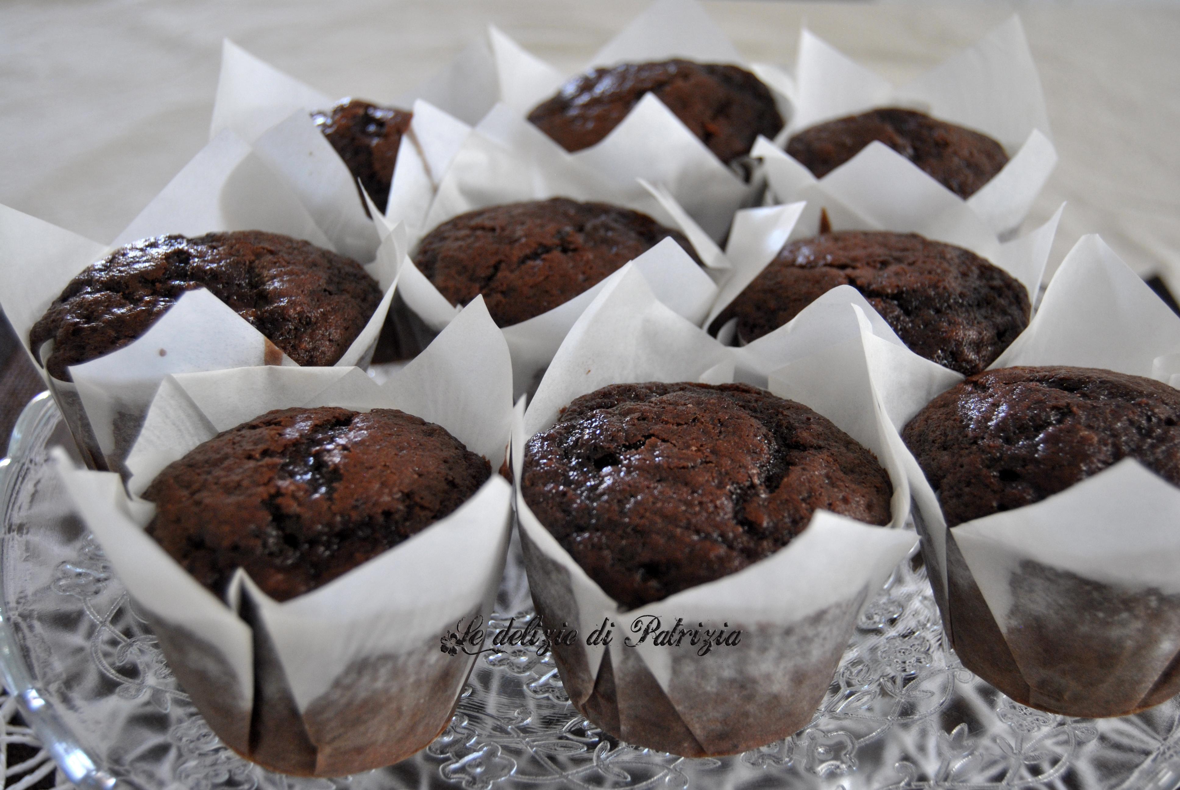 Muffins cacao e banana