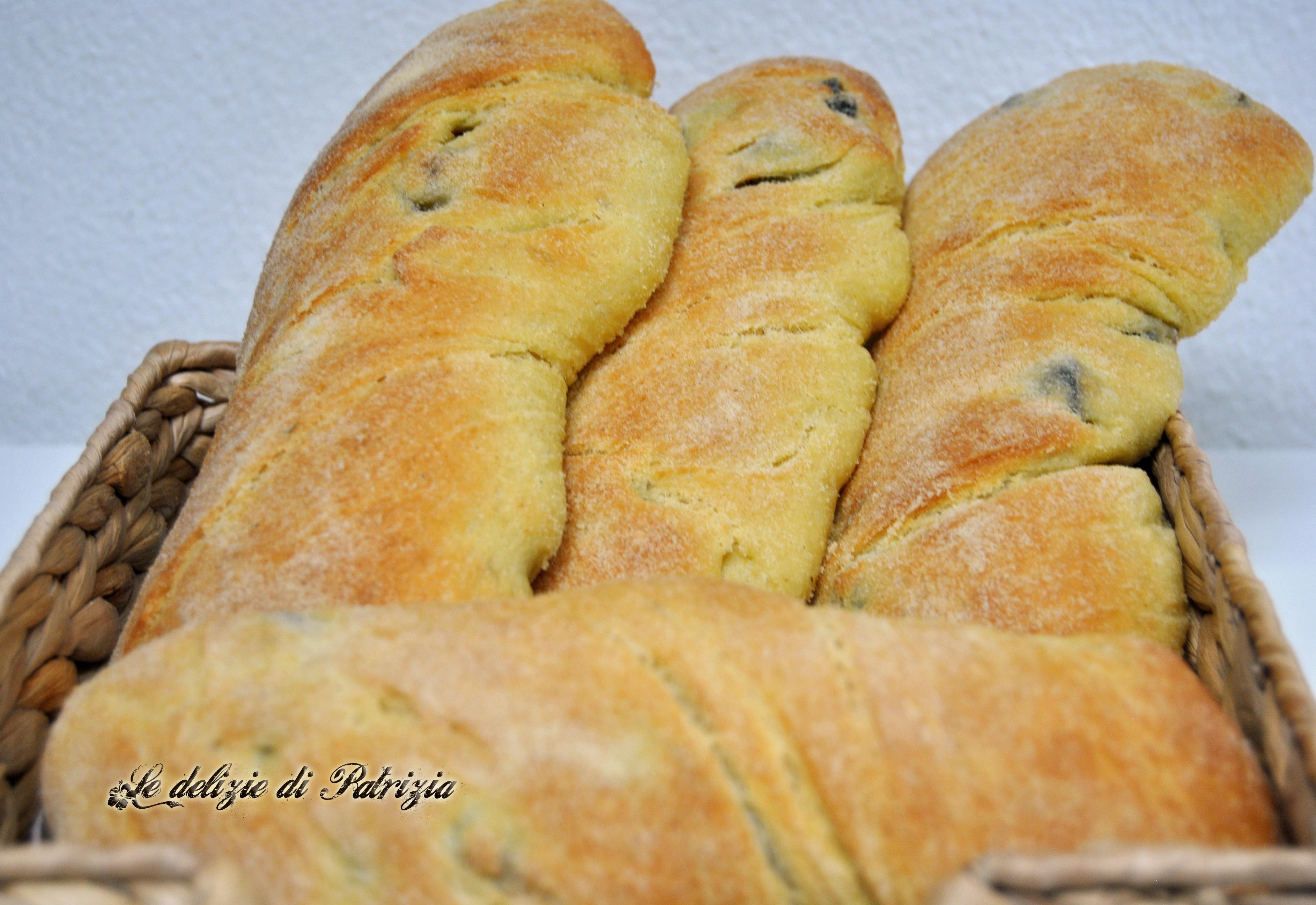 Filoni di semola alle olive